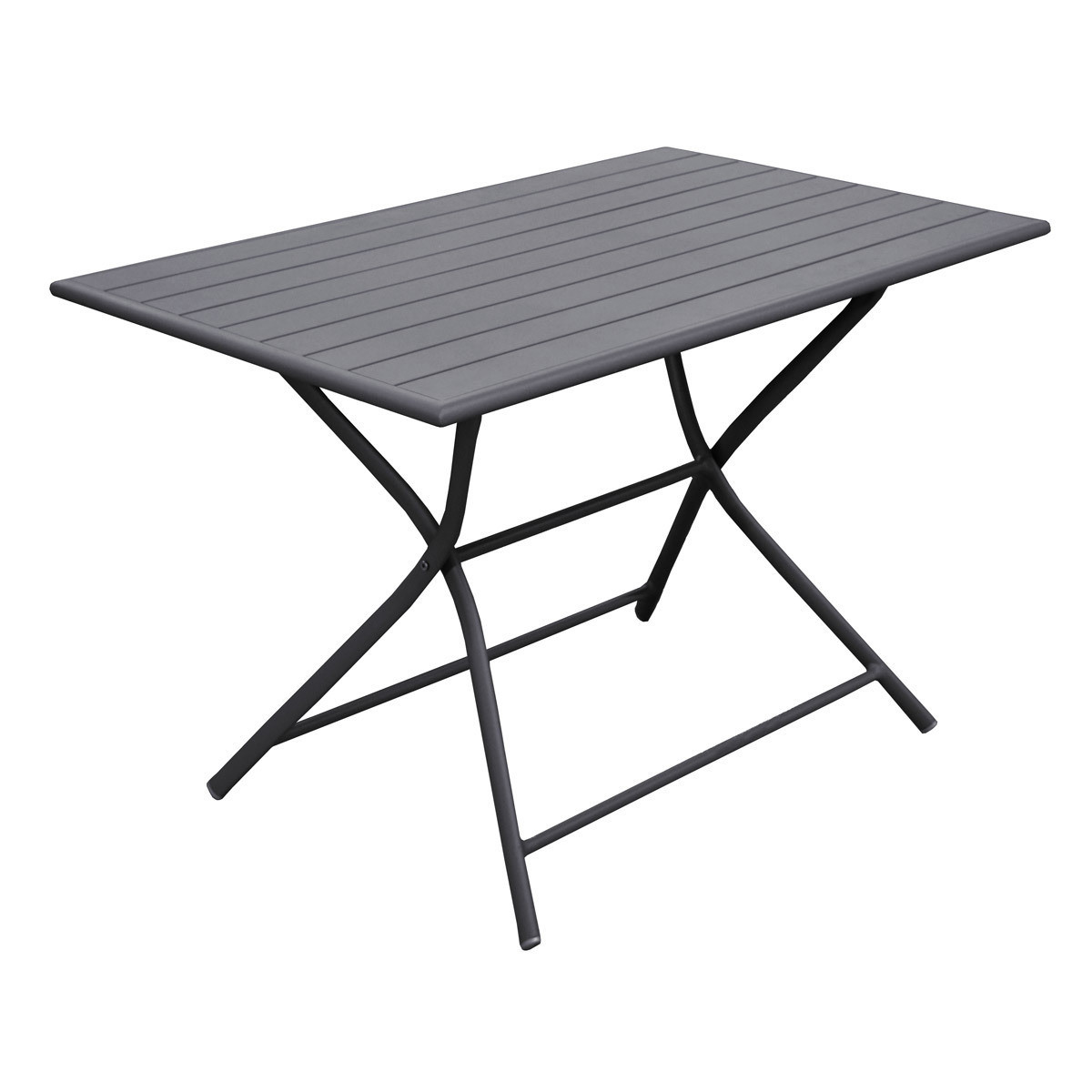 Table de jardin pliante rectangulaire Logia | Mambhome