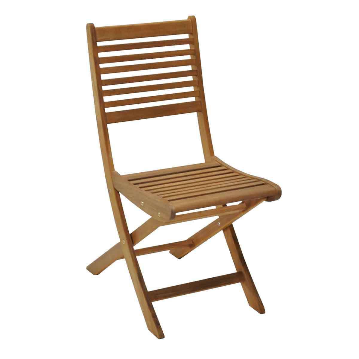 chaise pliable jardin bois