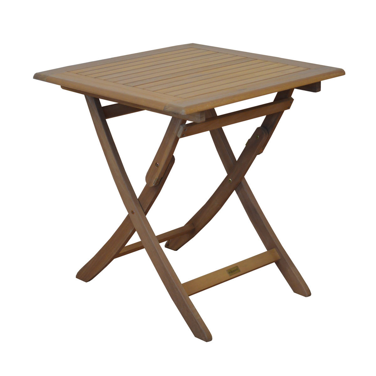 Table de jardin pliante Eucalyptus