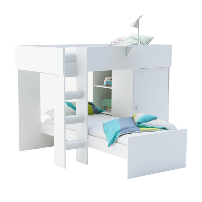 lit superpose modulable pour enfant nevada