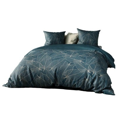 Parure de lit percale de coton Jungle