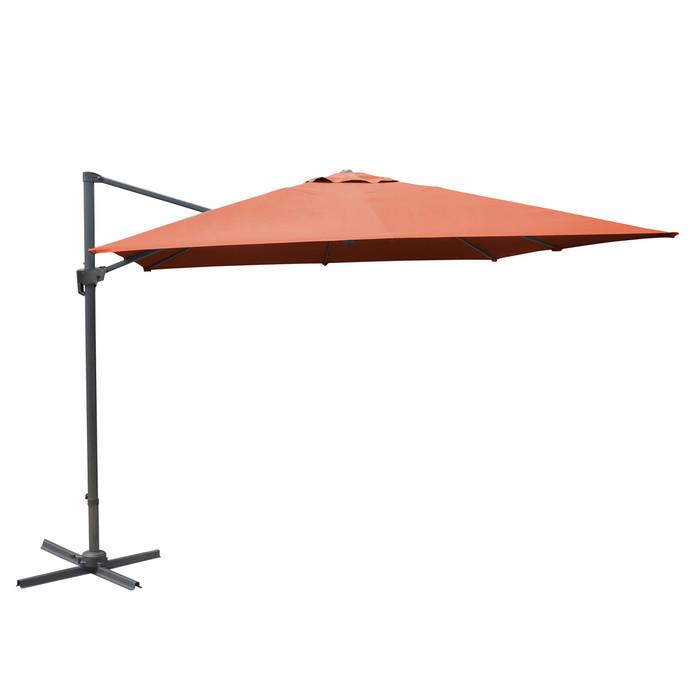 parasol d port et inclinable 3x4 m stan